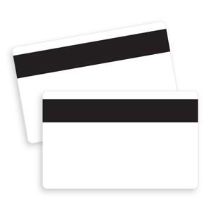 Blank magstripe card