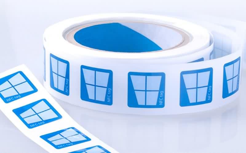 Custom Printing NFC Paper inlay Stickers