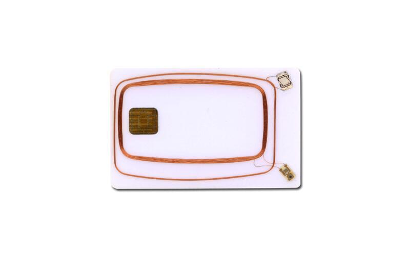 Dual Interface RFID Smart Card