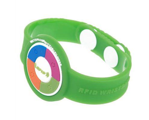 pvc rfid wristband PVC001-2