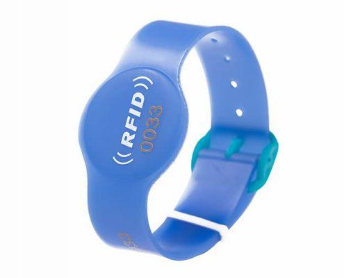 pvc rfid wristband PVC006