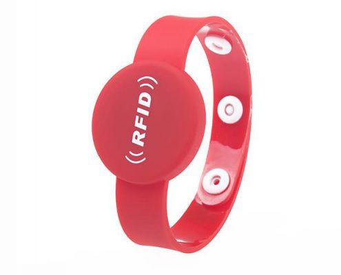 pvc rfid wristband PVC007