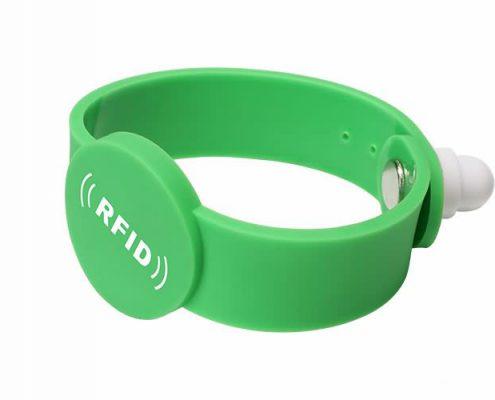 pvc rfid wristband PVC0012-1