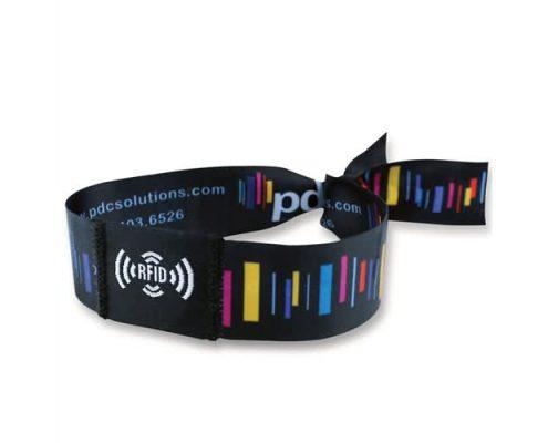 RFID woven wristband breacelet