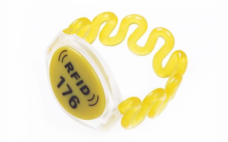 RFID plastic wristband SJ001-2