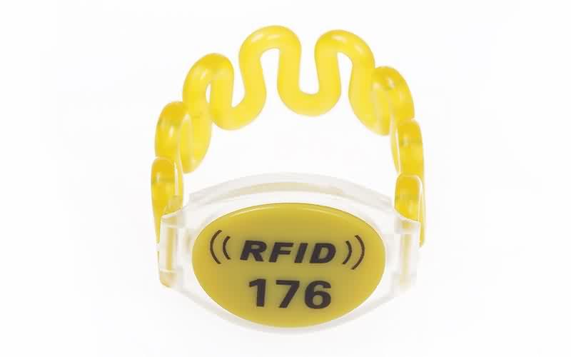 RFID plastic wristband SJ001