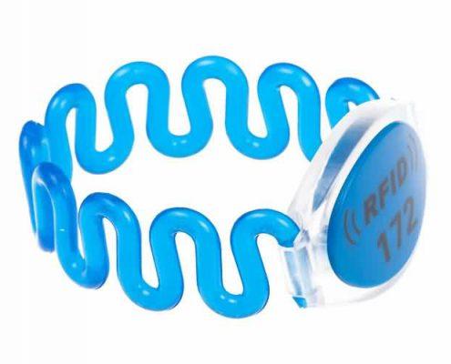 RFID plastic wristband SJ002-1