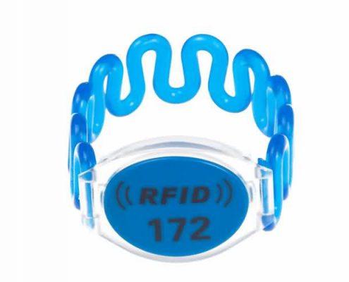 RFID plastic wristband SJ002