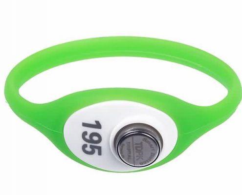 RFID plastic wristband SJ004 77MM