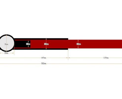 nylon RFID wristband SNL002-3