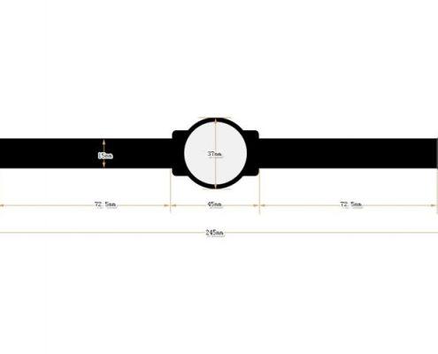RFID nylon wristband SNL003-3