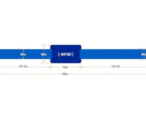 RFID nylon wristband SNL005-3