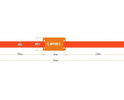 nylon RFID wristband SNL006-3