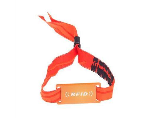 nylon RFID wristband SNL006
