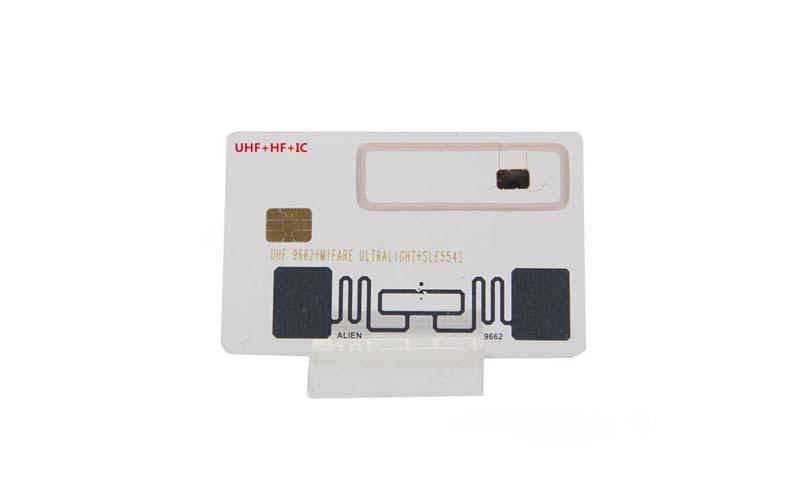 UHF HF Contact Smart Card
