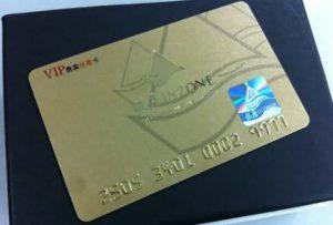 brushed pvc hologram card