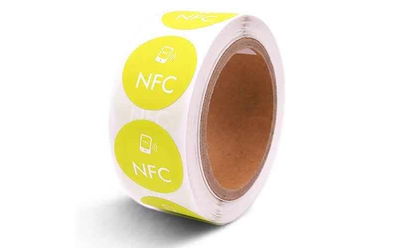 custom printing nfc label sticker