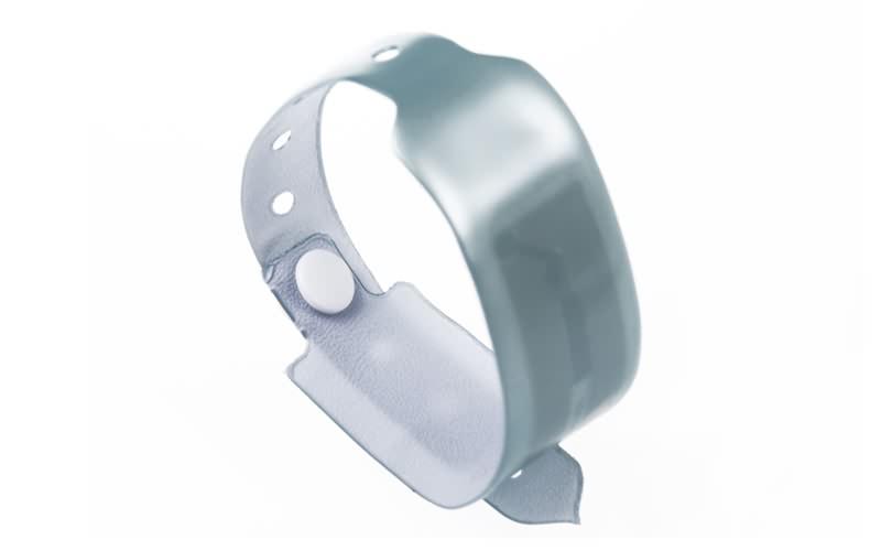 disposable RFID pvc wristband