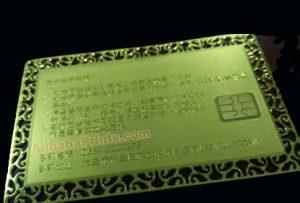 metal contact ic cards