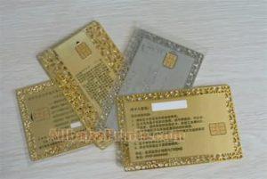 metal contact smart card