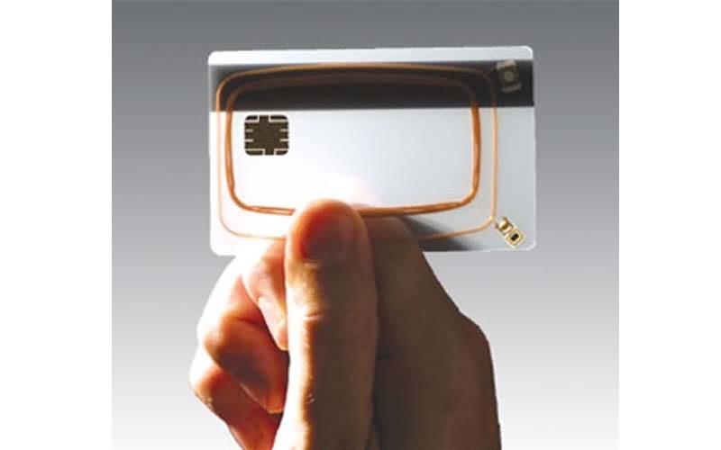 rfid dual interface card