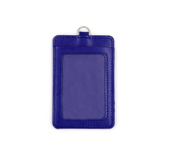 Leather badge holder