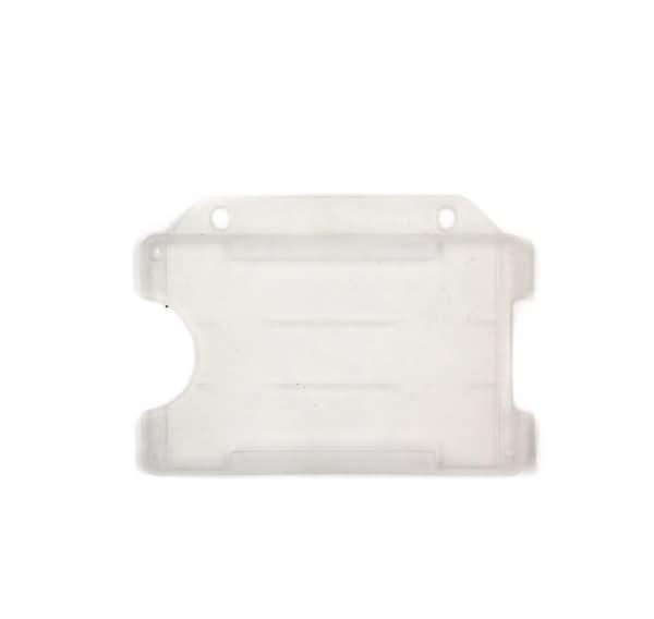 Open face rigid badge holder7