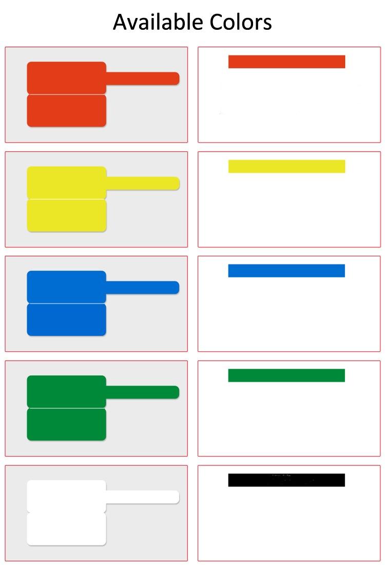 cable label colors