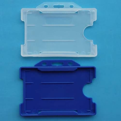 rigid pp plastic card holder