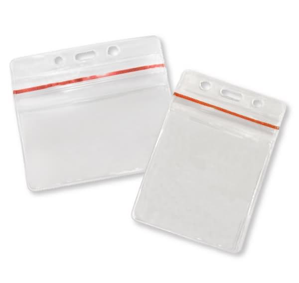 waterproof pvc badge holder