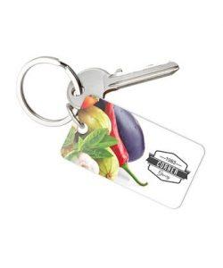 54x30 single plastic key tag