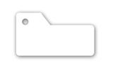 S shaped key tag
