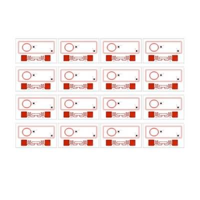 HF+UHF 4x4 RFID prelam