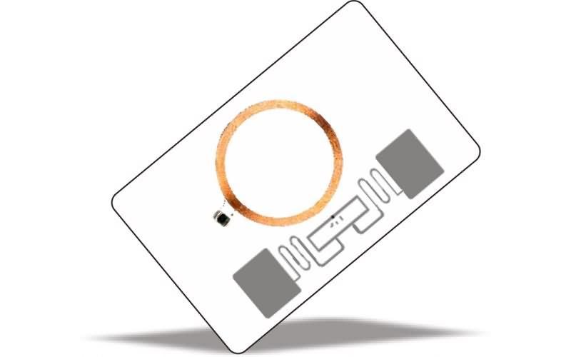 LF+UHF hybrid card