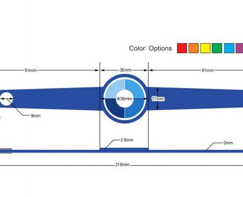 pvc rfid wristband PVC002-3
