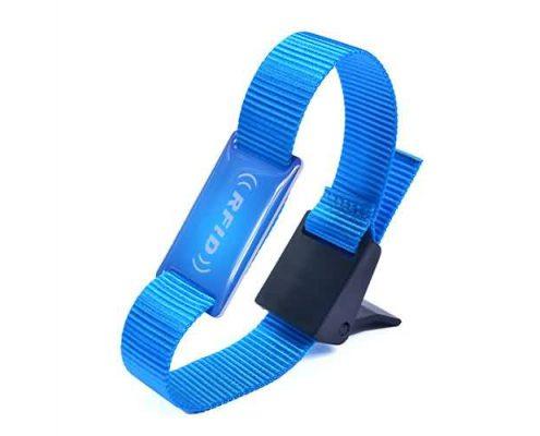 RFID nylon wristband SNL005