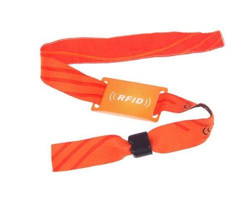 nylon RFID wristband SNL006-2