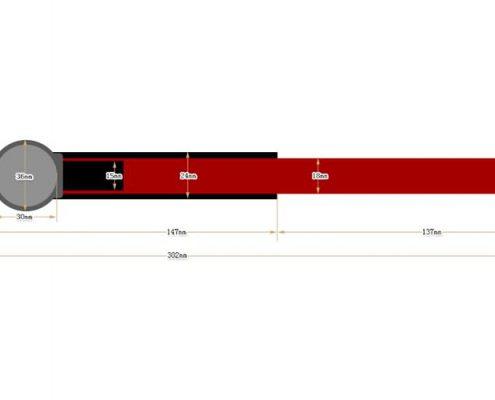 nylon RFID wristbands SNL008-3