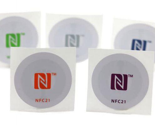 custom printing nfc sticker