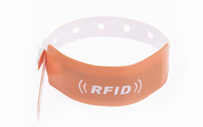 disposable RFID pvc wristband2