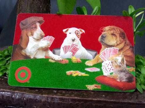 flocking card