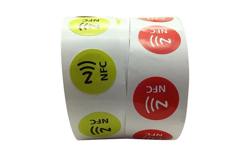 printed nfc sticker tag