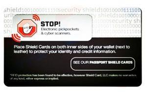 rfid shield cards
