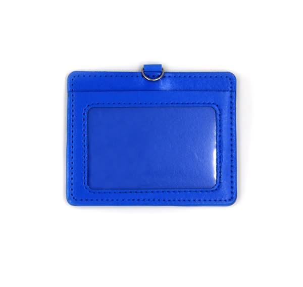 Leather badge holder3