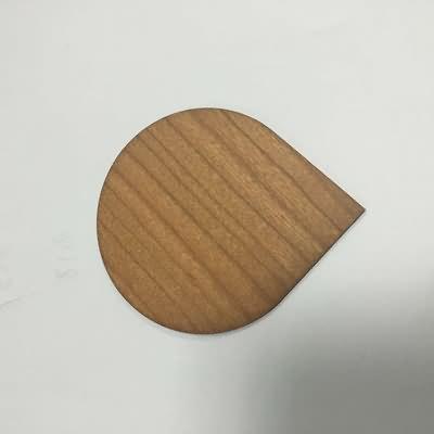 RFID EM4200 Wooden Card