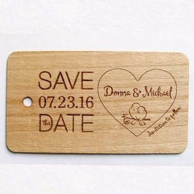 RFID I-CODE Wooden Card