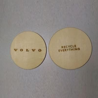 RFID TK4100 Wooden Card