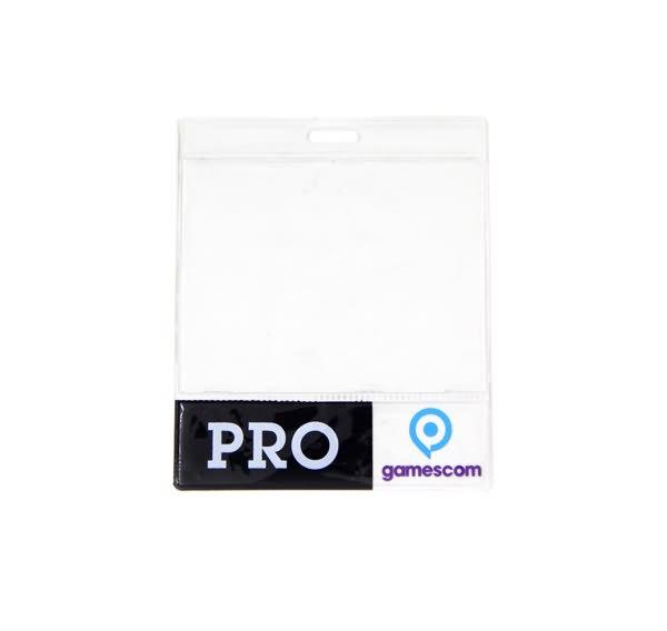 Spot printed badge holder5