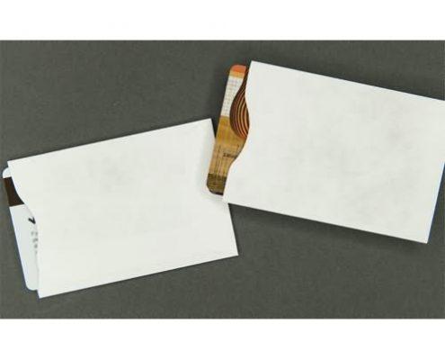 blank paper card sleeves