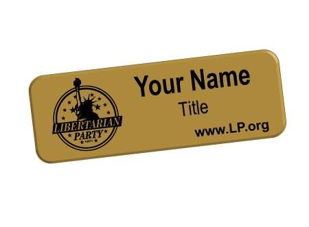 plastic engraved badges